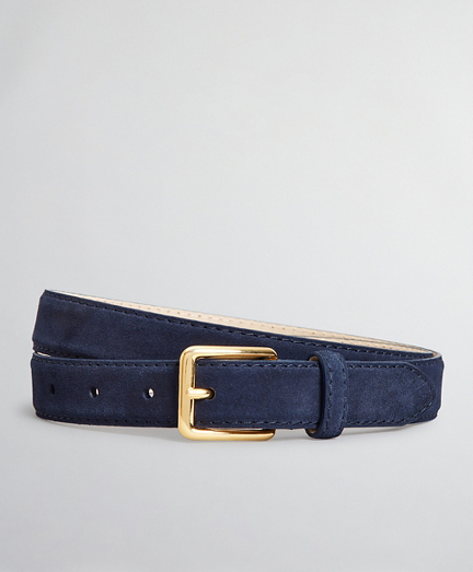 The Brooks Brothers Voyager Belt - Suede