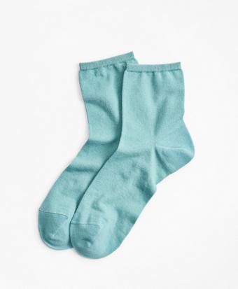 Cotton-Silk-Blend Ankle Socks