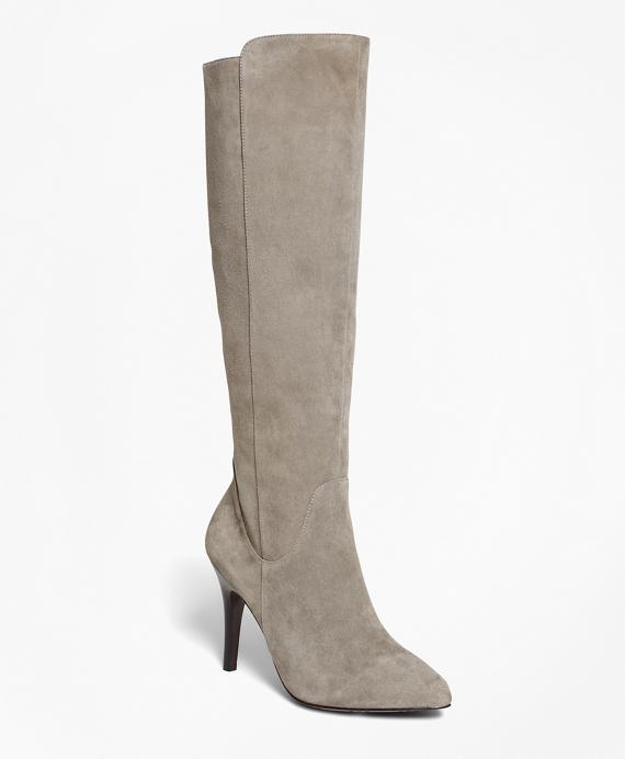 Suede Boots Grey