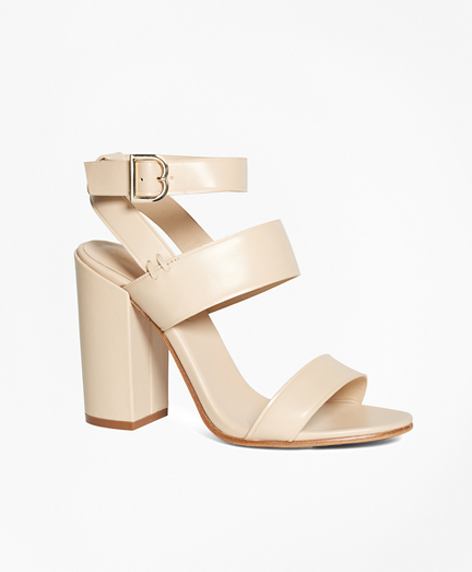 Tall Ankle-Strap Sandals