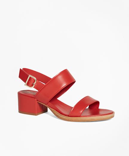 Low Open-Toe Sandal
