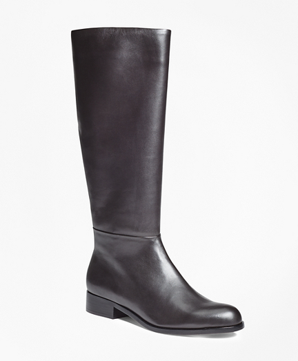 Tall Leather Boots