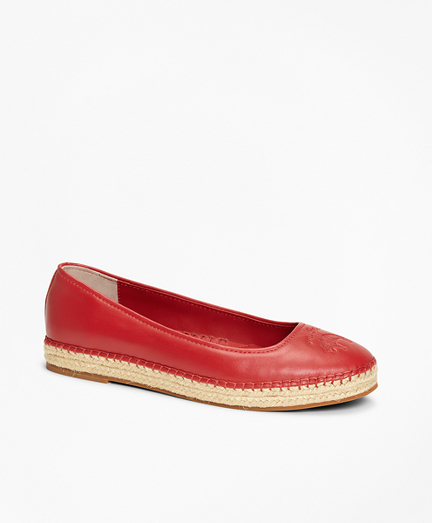 510b938539e6c Leather Espadrille Flats. remembertooltipbutton