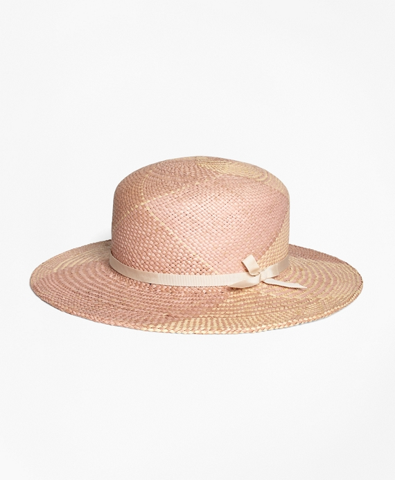 Pastel Straw Boater Natural