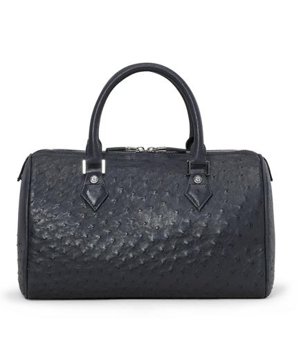 Ostrich Barrel Bag
