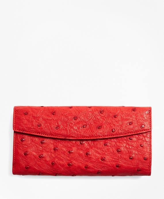 Ostrich Wallet Red