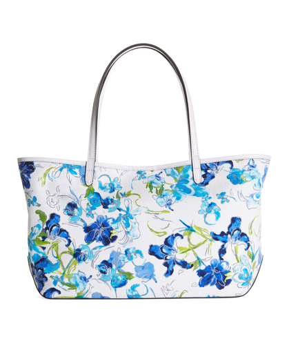 Canvas Floral Tote