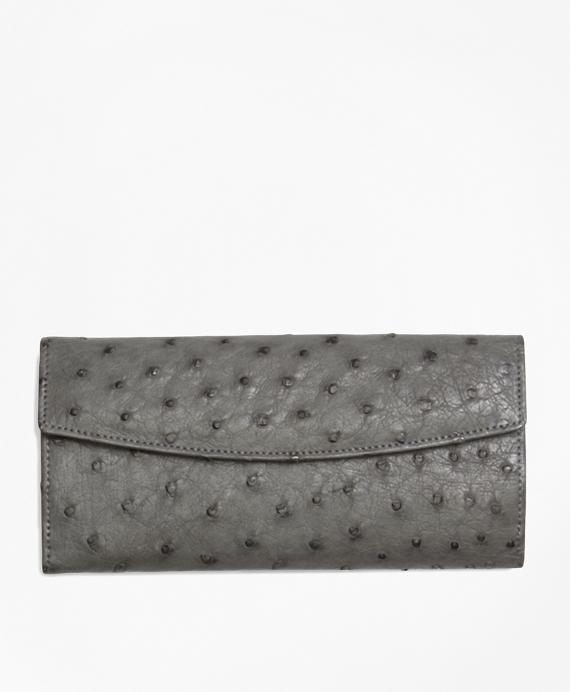 Ostrich Wallet Grey