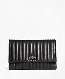 Leather Quilted Medium Shoulder Bag