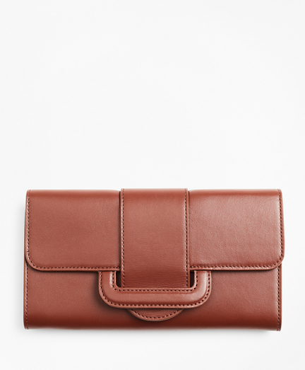 Leather Envelope-Flap Wallet