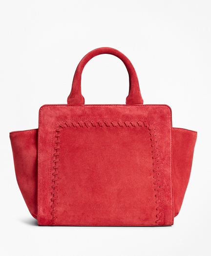 Suede Mini Tote Bag
