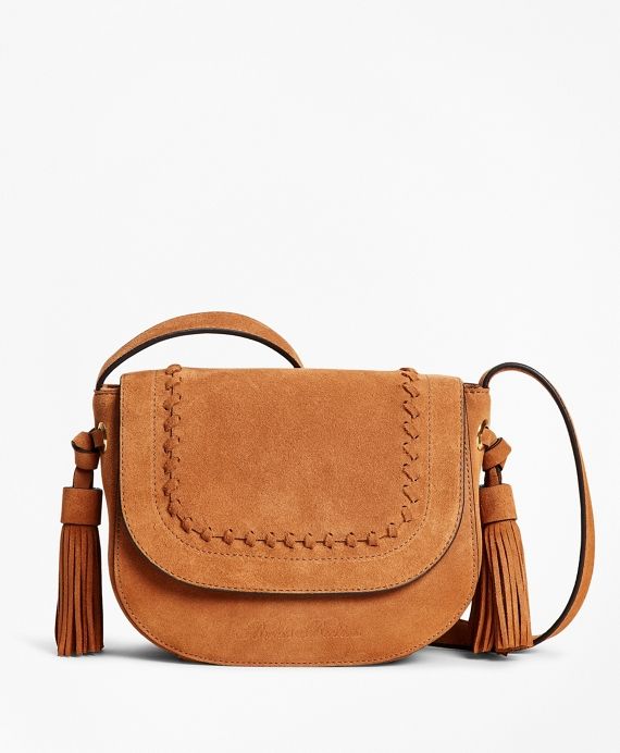 Suede Saddle Bag Copper