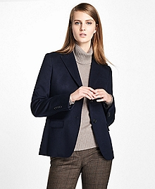 Loro Piana® Two-Button Cashmere Blazer