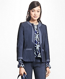 Corded Cotton-Blend Jacket