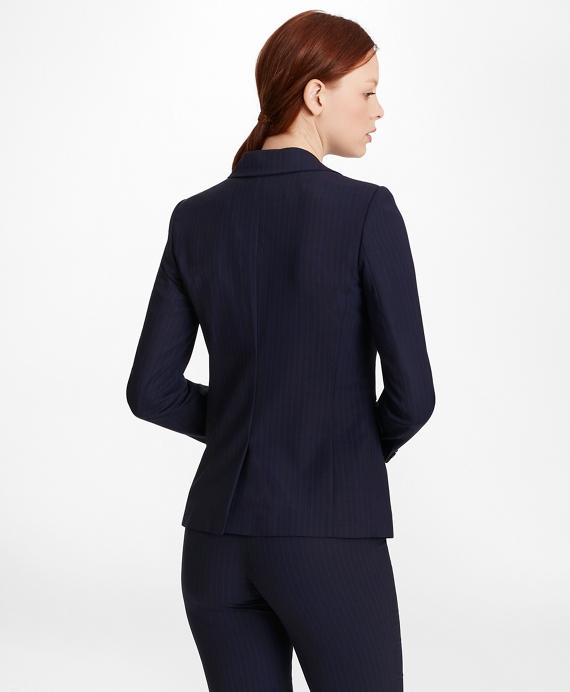 031a26dec Pinstripe BrooksCool® Merino Wool Jacket - Brooks Brothers
