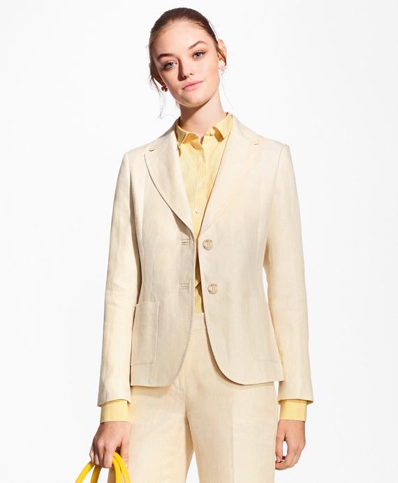 Linen Jacket Tan