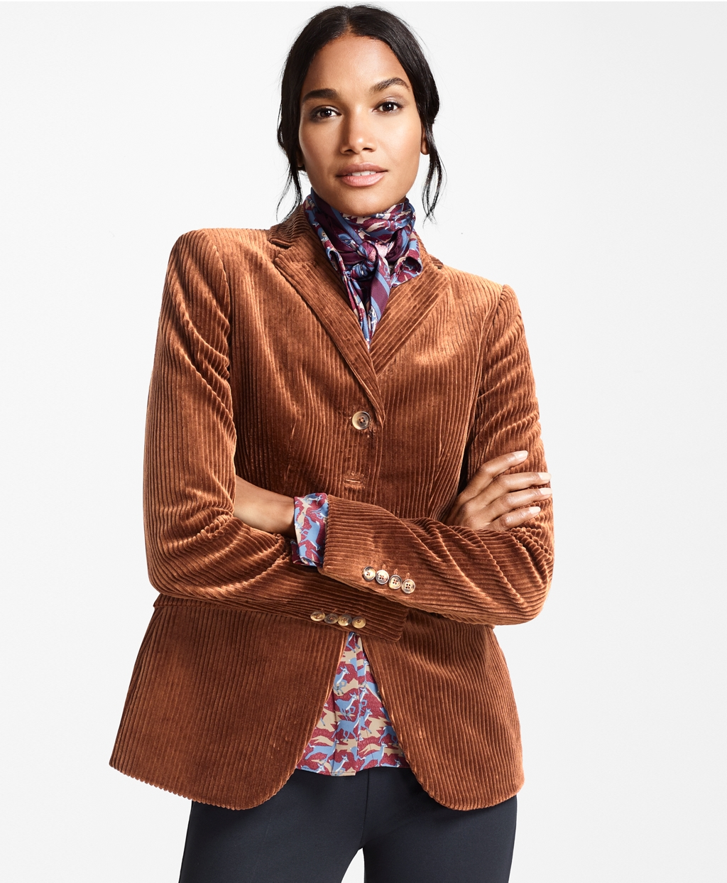 1960s Coats and Jackets Brooks Brothers Womens Cotton Corduroy Jacket $398.00 AT vintagedancer.com