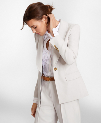 Shawl-Collar Jacket