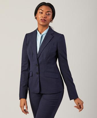 Prince of Wales Plaid BrooksCool® Merino Wool Jacket