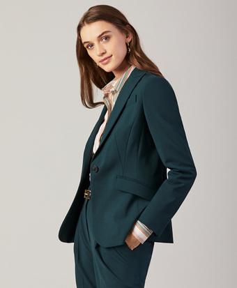 Stretch Wool Jacket