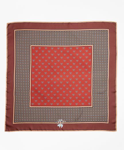 Foulard Silk Square Scarf