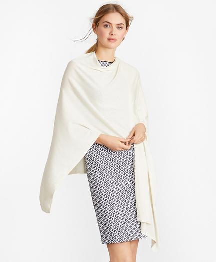Lightweight Silk-Blend Ruana