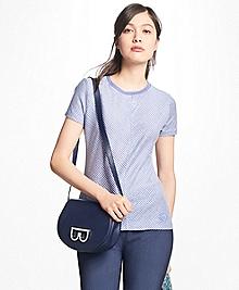 Striped Linen-Cotton T-Shirt