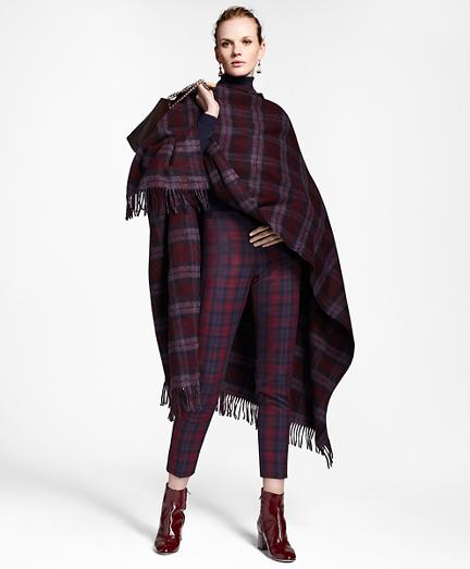 Tartan Wool Ruana