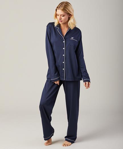 Supima® Cotton Interlock Jersey Pajama Set