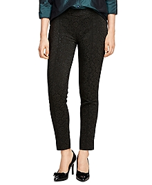 Lucia Fit Jacquard Trousers
