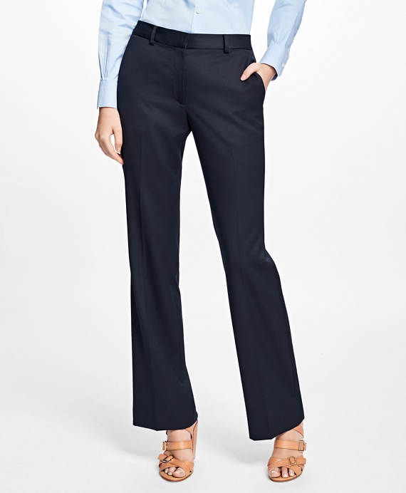 Gabardine Trousers Navy