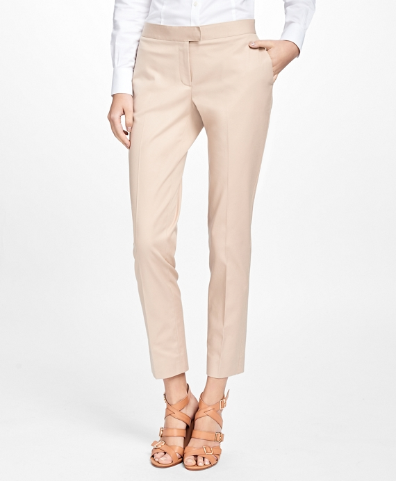 Flat-Front Stretch Advantage Chinos® Khaki