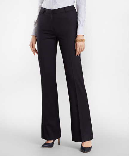 Wool Wide-Leg Pants