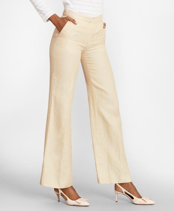 Linen Pants Tan