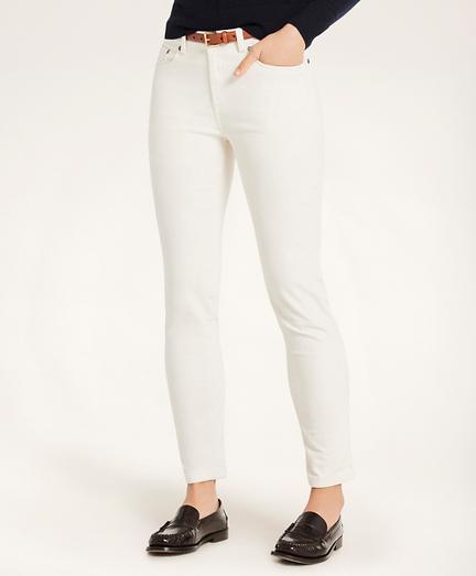 Stretch Cotton 15-Wale Corduroy Pants