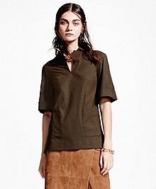 Wool-Blend Tunic