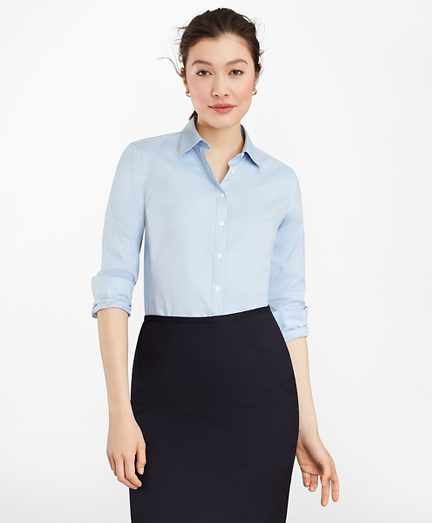 Non-Iron Fitted Dress Shirt