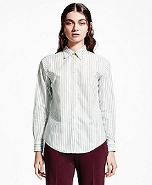 Striped Non-Iron Dress Shirt