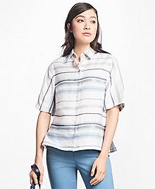 Striped City Camp Shirt