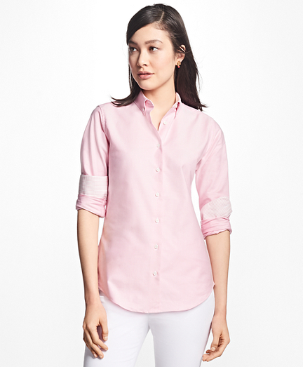 Classic-Fit Supima® Cotton Oxford Button-Down Shirt