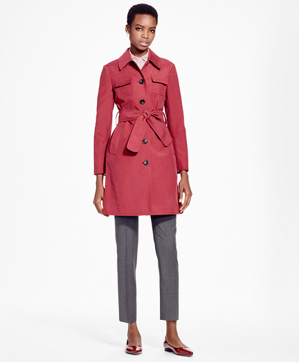 Double-Face Water-Repellant Coat
