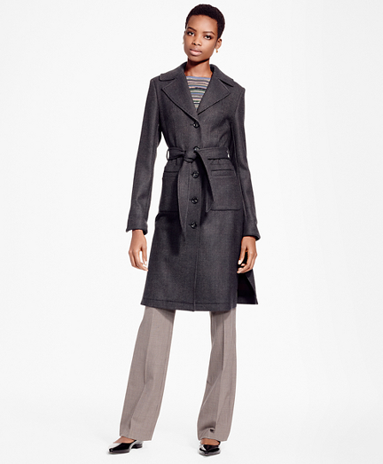 Double-Face Twill Coat
