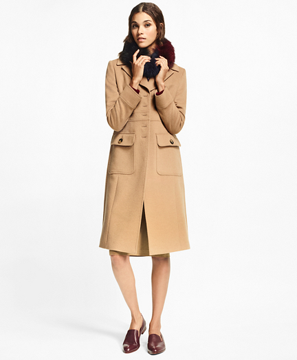 Camel Hair Polo Coat