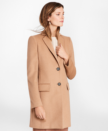Camel Hair Car Coat