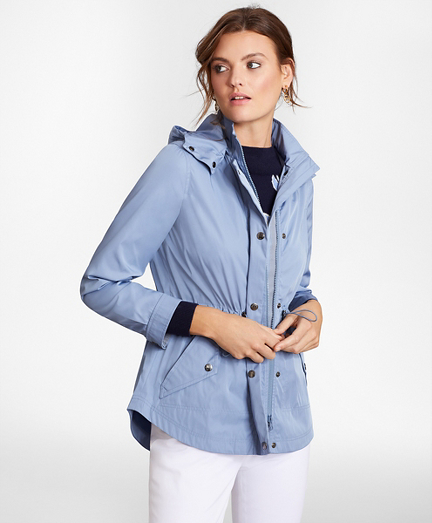 Water-Repellent Raincoat