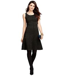 Jacquard Sleeveless Dress