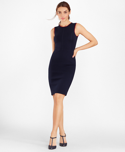 Knit Merino Wool Sheath Dress