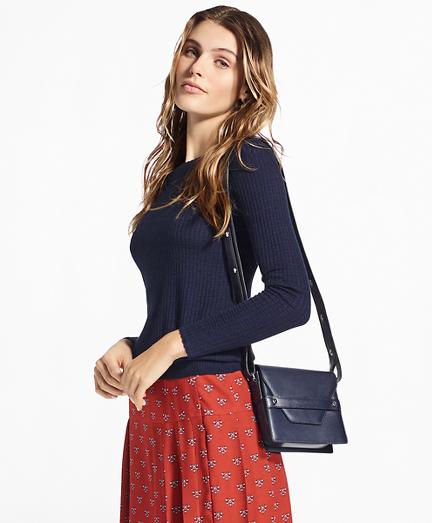 Waffle-Knit Silk-Cashmere Sweater