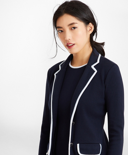 Milano-Knit Rowing Blazer