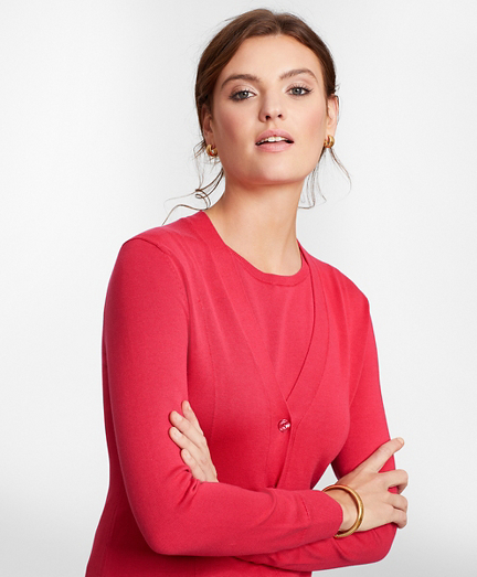 Supima® Cotton Long Cardigan